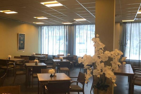 Das Café im Einkaufszentrum von Põlva