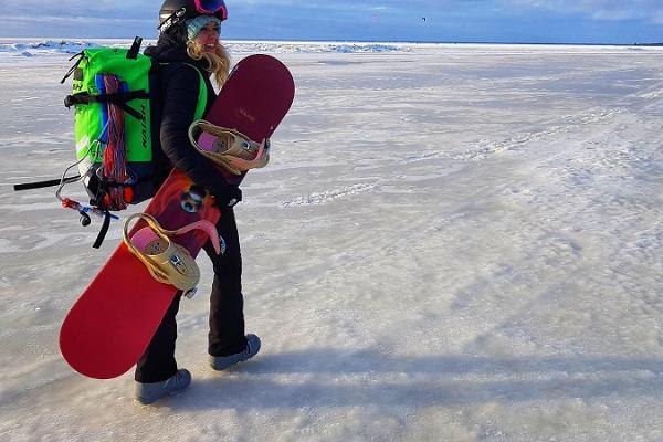 Surf Center - talvine lohesurfi koolitus Pärnu rannas ja mujal Eestis