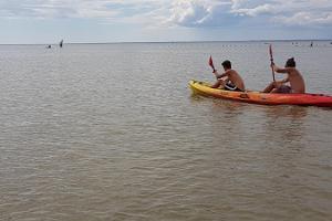 Pärnu Surfcentrums kajaksuthyrning i Pärnu och i olika ställen i Estland