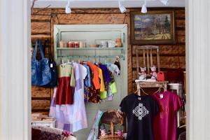 Handarbeitsgeschäft in Tõstamaa (dt. Testama)
