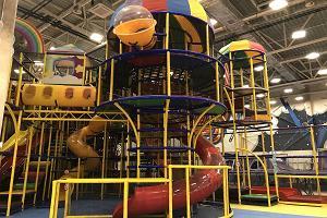 Super Skypark trampolin- och lekpark