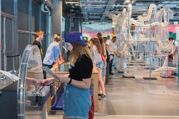 Käytännön tiedekeskus SkyLab Super Skyparkissa