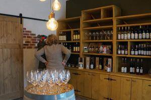 Tasting Estonian wines at Murimäe Winery