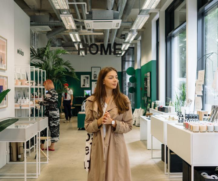 #EstonianWay of shopping with Valeriya Sokolova