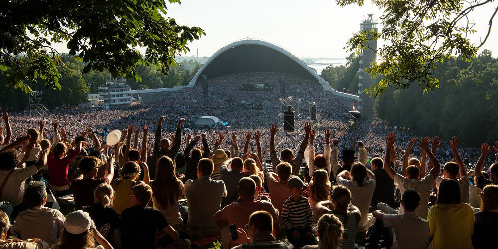 Эстонский праздник песни и танца