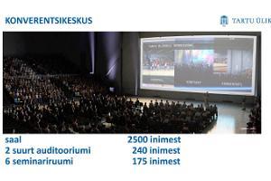 Konferenzzentrum des Akademischen Sportklubs der Universität Tartu