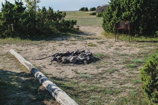 Suarõ ninä – Strand und alte Anlegestelle