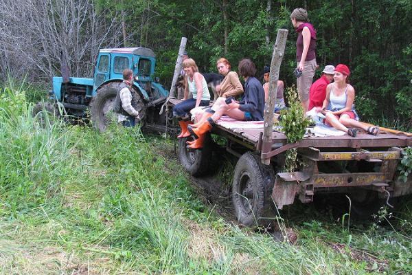 Viruna gårds kanotutflykt till myrsjöar