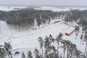 Лыжные трассы и аренда лыж в Центре здоровья и спорта Йыулумяэ