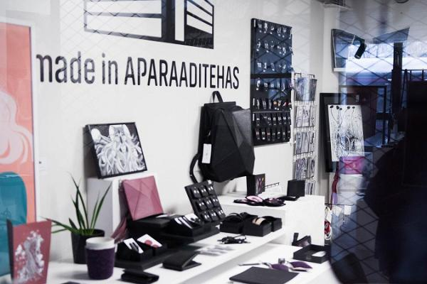 Art and design store 'Made in Aparaaditehas'