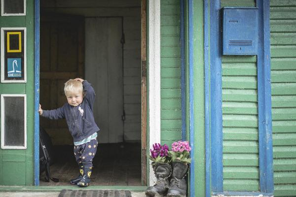 Yöpyminen Peipsiäären kunnassa vanhauskoisten kylän asuntotyypissä