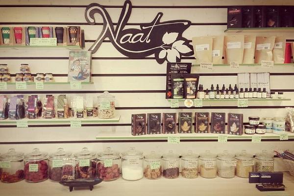 Luonnollisen ruoan myymälä Naat