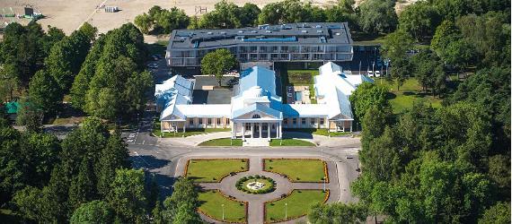 Hedon Spa & Hotel är en klassisk estnisk spa- och badanläggning med ett tillhörande fyrstjärnigt hotell, vackert beläget i Pärnu