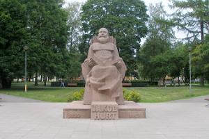 Monument to Jakob Hurt