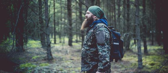 Wandern in Estlands Wäldern