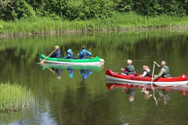 Suure Seikluse kanuumatkad Eestimaa jõgedel