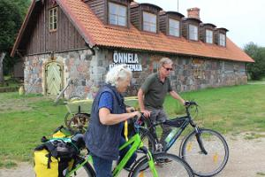 Bicycle hikes at Linnumäe Nature Farm