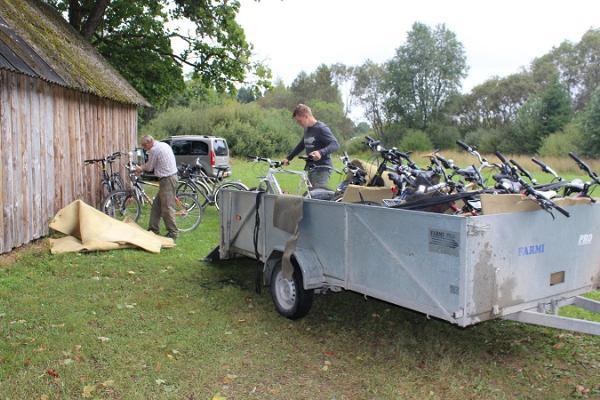 Bicycle hikes at Linnumäe Nature Farm