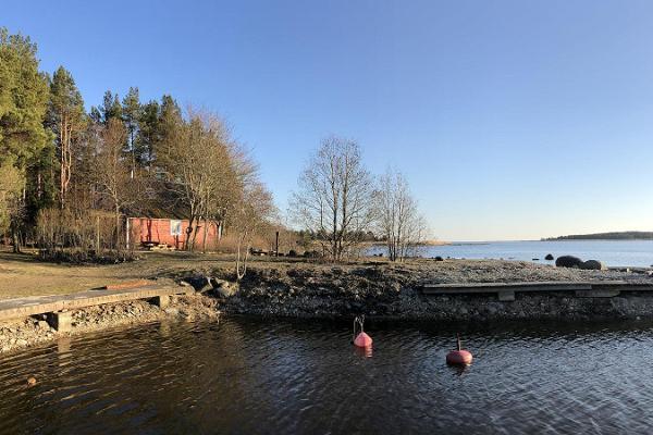 Strandhus i Pärnumaa. Kaptenens semesterhus.