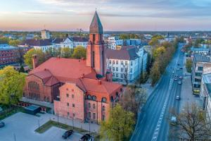 Spire of St. Paul's Church in Tartu