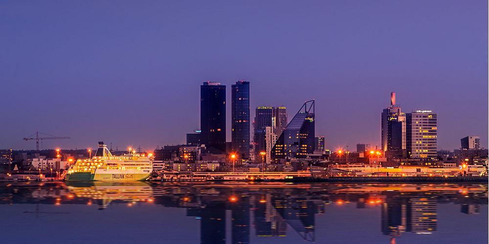 Havet som granne i Estlands huvudstad Tallinn
