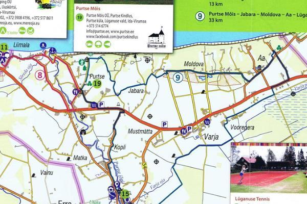 Cycling tour to Moldova village in Ida-Viru County