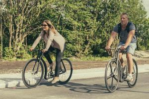 I Purtse med cykel