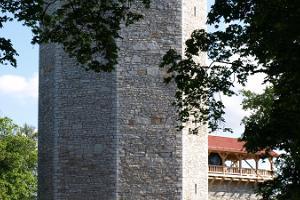 Wittensteins tidsresecentrum i tornet på Paide Vallbacke