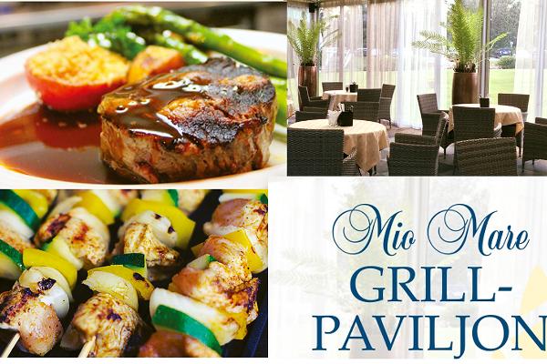 Grill Pavilion at Restaurant Mio Mare