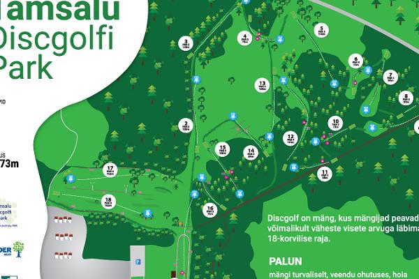 Tamsalu discgolfi park