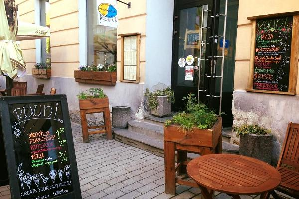 Estnisk pub Ruuni utifrån