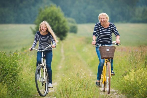 Kalevipoeg bike tour on the Kodavere–Saare–Mustvee–Raja–Kodavere route