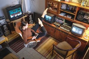Interaktiivinen videopelimuseo LVLup