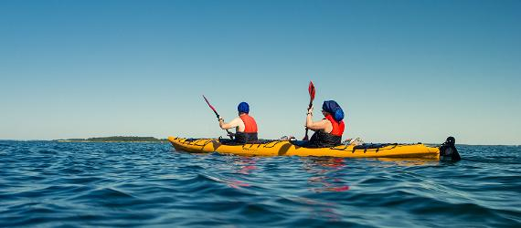 Kayaking in Estonia, Hiiumaa, Visit Estonia