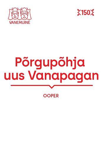 """An opera """"The Misadventures of the New Satan (Põrgupõhja uus Vanapagan)"""""""
