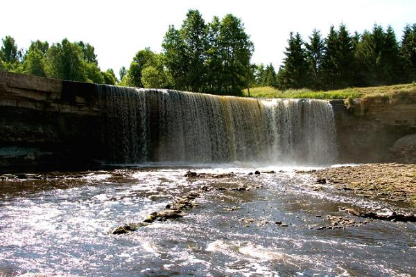 Jägala-Kostivere-Neeme. Wonderful coastline, Jägala waterfall and the habitats of ancient Estonians.