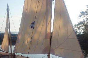 """Laevasõit puupurjekaga """"Tütarsaare Aino"""""""