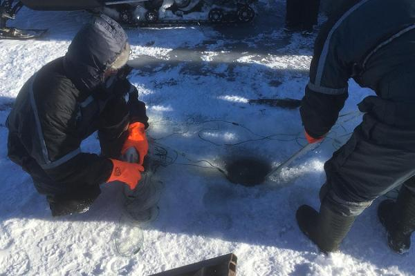 Ice winter adventure – fishing on Lake Peipus
