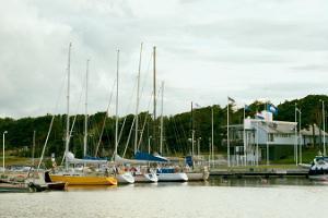 Puben i Lohusalu yachthamn