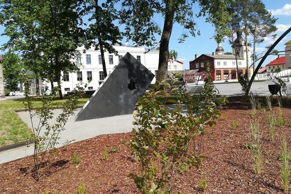 """Piemineklis prāmja """"Estonia"""" katastrofā bojā gājušajiem"""