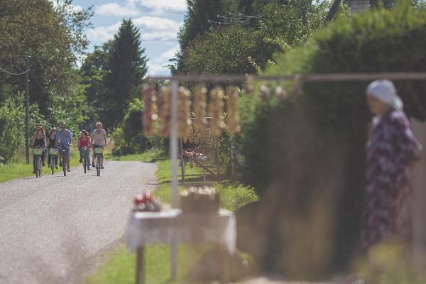 Jalgrattaga Sibulateel: Alatskivilt Nina külla