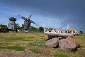 Saaremaa daytour to Kaali crater, Angla windmills and Panga cliff