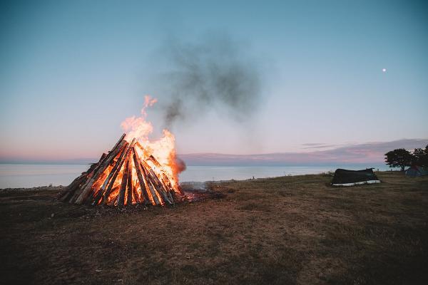 Midsummer`s Eve in Estonia