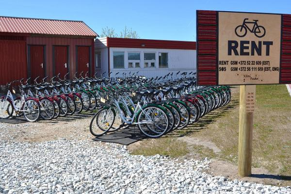 Jalgrattalaenutus Kihnu sadamas