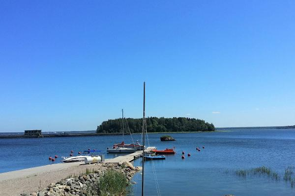 U-Boot-Stützpunkt des Hafens von Hara