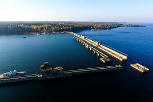 База подводных лодок в порту Хара