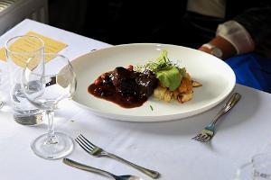 """Restaurant """"Essen der Epochen (Ajastute Toidud)"""" im Zeitenzentrum Wittenstein"""