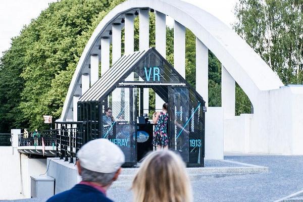 """Zeitloch """"VR Tartu 1913"""", Pavillon"""