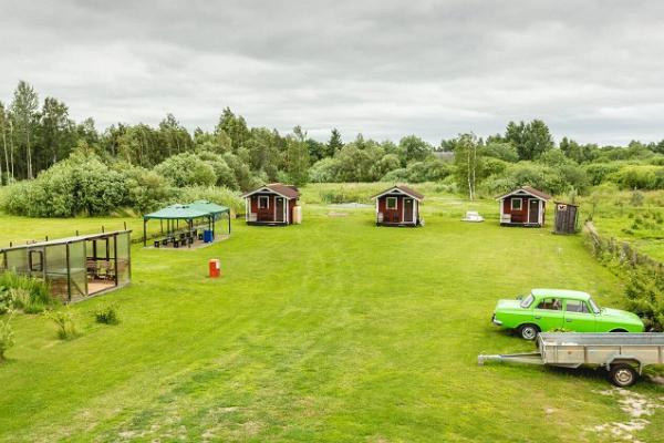 Ferienhof Vaino, Campinghäuschen