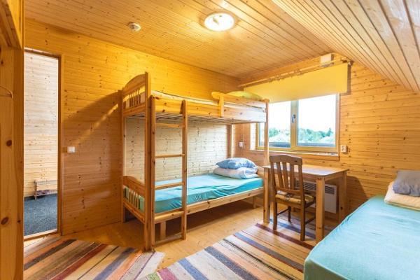 Ferienhof Vaino, Zimmer mit Etagenbetten